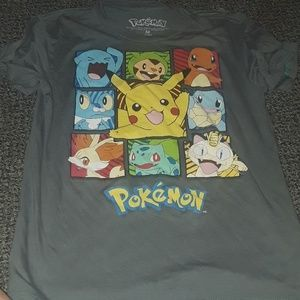 Pokemon Shirt for Boys or Girls size M 8-10